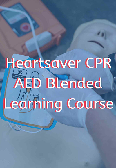heartsaver® cpr aed blended learning course